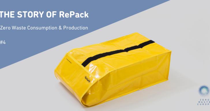 Viszlát egyszer használatos csomagolás? Bemutatkozik a RePack