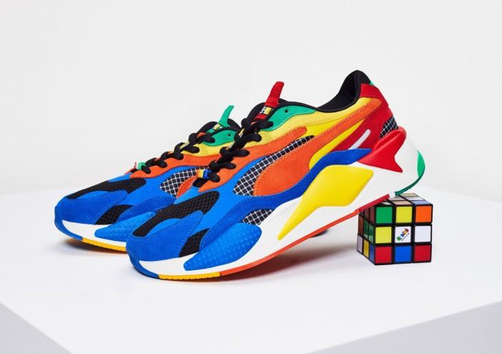 Rubik-kockás cipőt dob piacra a Puma