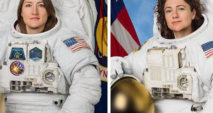 Először léptek ki csak nők a világűrbe
