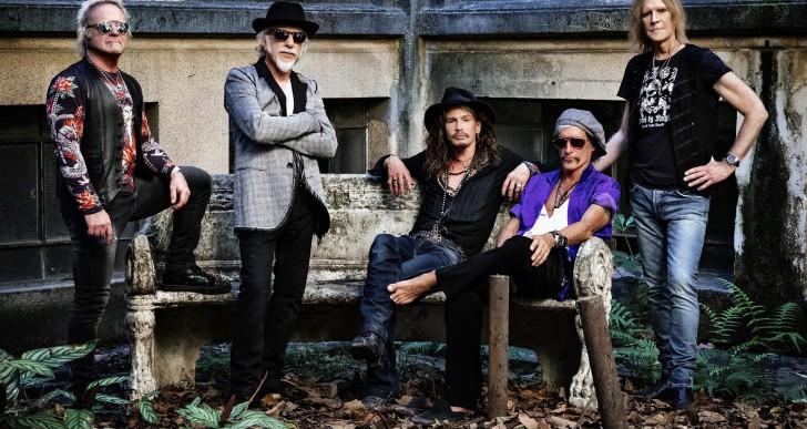 Rockrajongók készüljetek, jön az Aerosmith!