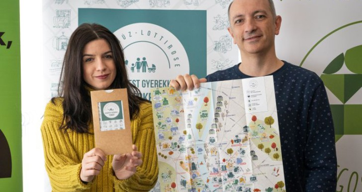 """Megjelent a """"Budapest gyerekkel"""" térkép"""