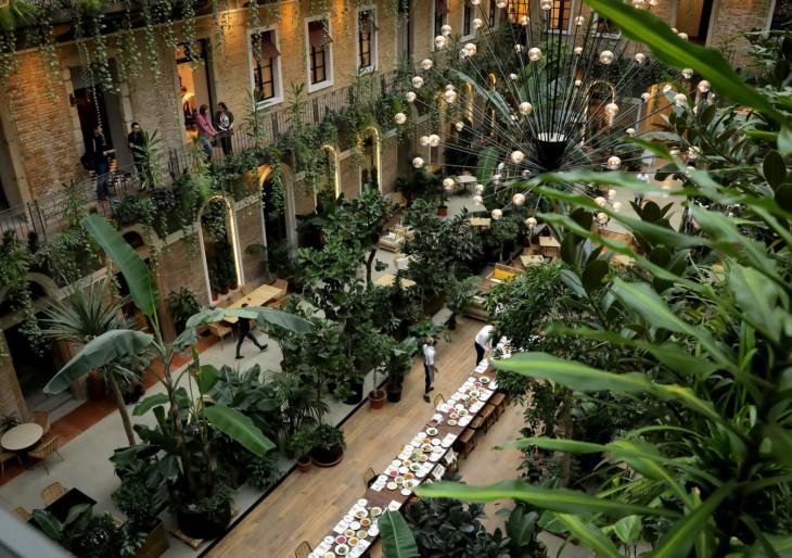 Igazi édenkert nyílt Budapest szívében
