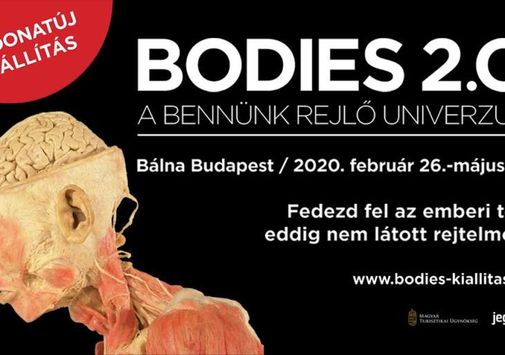 Újra Magyarországon a nagy sikerű kiállítás – Jön a Bodies 2.0!