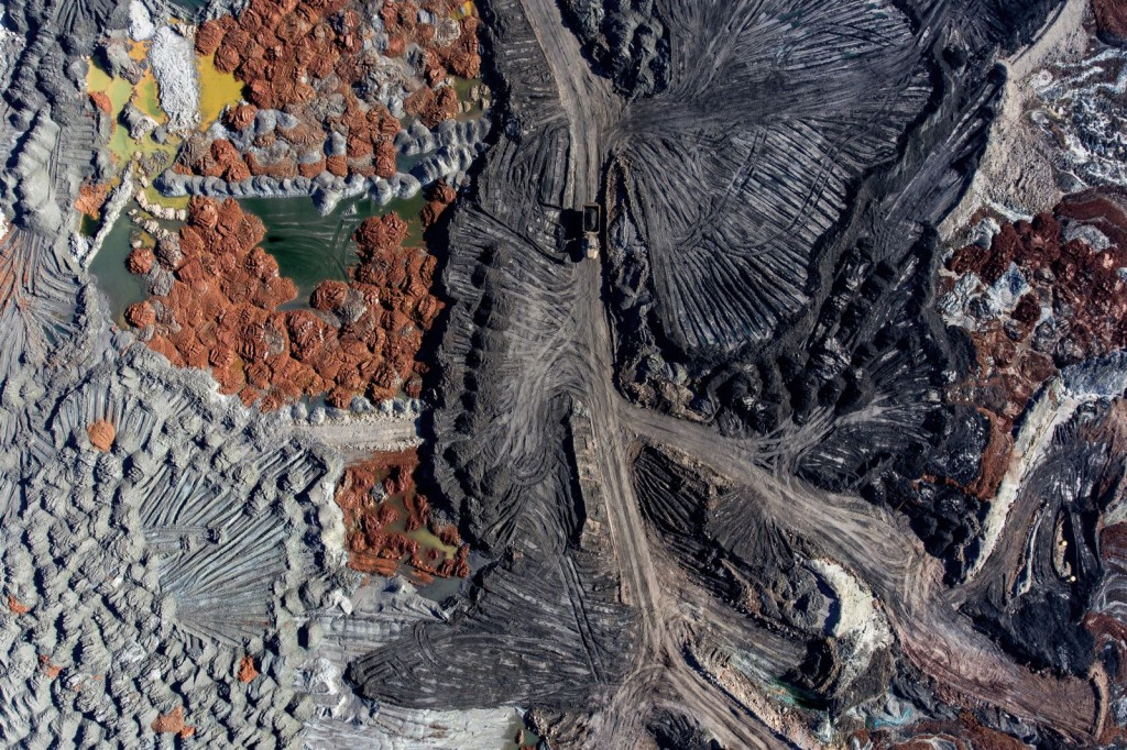 Copper mining residues