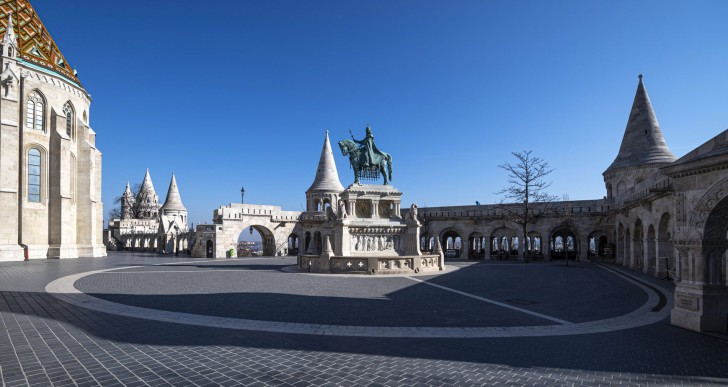 Hidegrázós videó készült az üres Budapestről