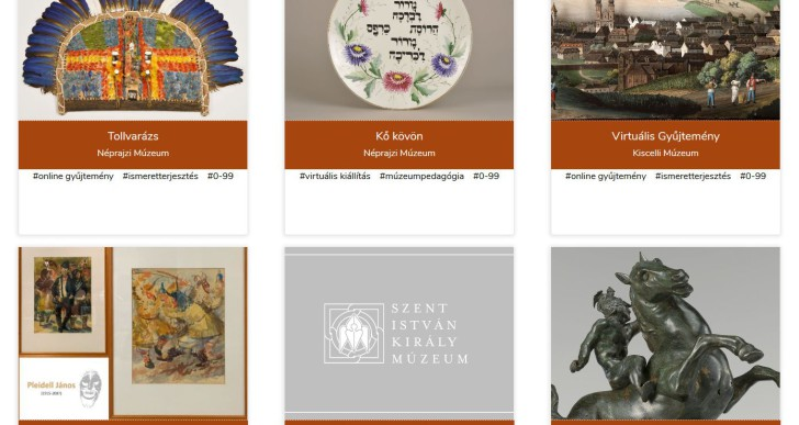 Az összes online tárlat egy helyen: elindult a Virtuális Mozaik Túra