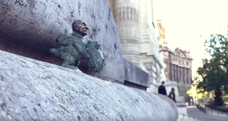 Láttad már Budapest új menő miniszobrát?