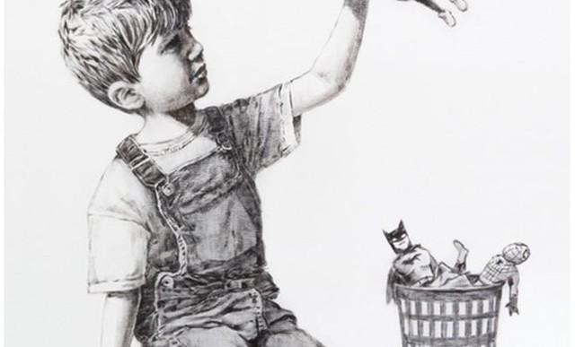 Valódi szuperhősök: Banksy legújabb alkotása az egészségügyi dolgozók előtt tiszteleg
