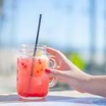 hand-woman-female-jar-glass-beverage-summer-drink-beach